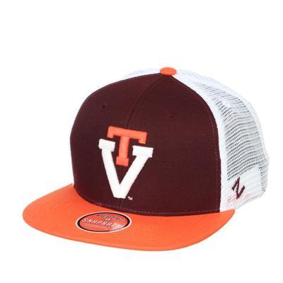 Virginia Tech Zephyr Paradigm Vault Trucker Hat