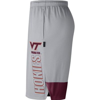 Virginia Tech Nike Men's Breathe Dry Player Knit Shorts