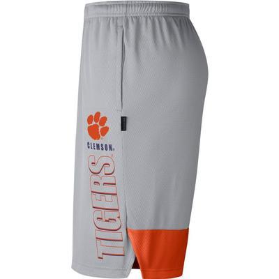 Clemson Nike Men's Breathe Dry Player Knit Shorts