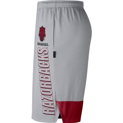 Arkansas Nike Men's Breathe Dry Player Knit Shorts