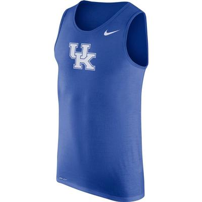 Kentucky Nike Men's Dri-fit Cotton Logo Tank
