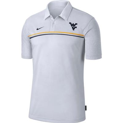 West Virginia Nike Men's Dry Polo 2