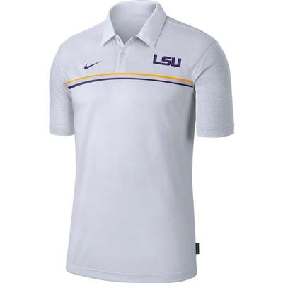 LSU Nike Men's Dry Polo 2