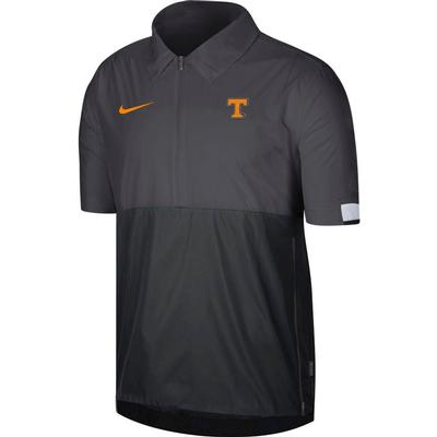 Tennessee Nike Men's Lightweight Coach Short Sleeve Jacket