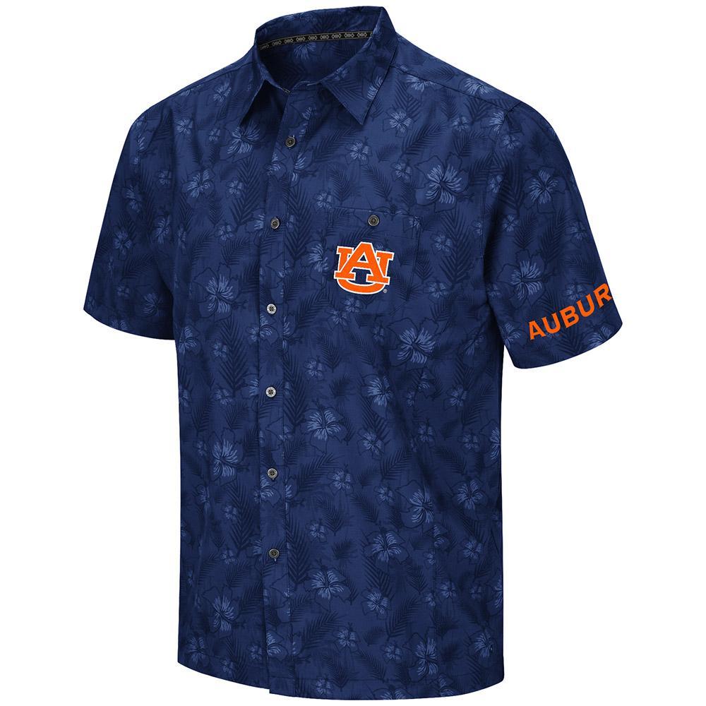 Auburn Molokai Camp Shirt