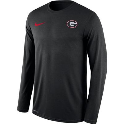 Georgia Nike Men's Long Sleeve Legend Tee