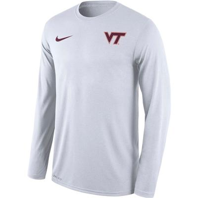Virginia Tech Nike Men's Long Sleeve Legend Tee