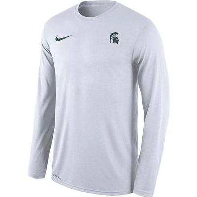 Michigan State Nike Men's Long Sleeve Legend Tee