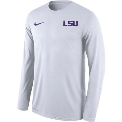 LSU Nike Men's Long Sleeve Legend Tee