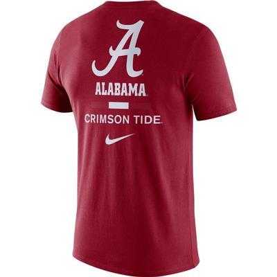 Alabama Nike Men's Dri-fit Cotton DNA Tee