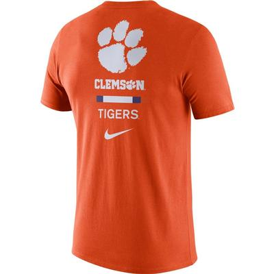 Clemson Nike Men's Dri-fit Cotton DNA Tee