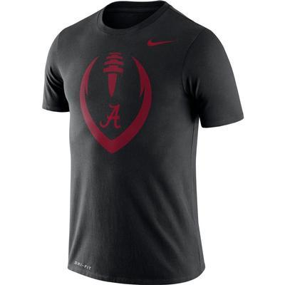 Alabama Nike Men's Legend Icon Football Tee