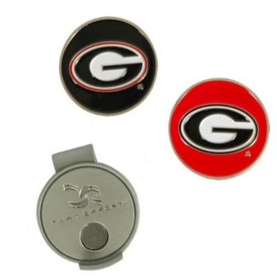 Georgia Hat Clip and Markers
