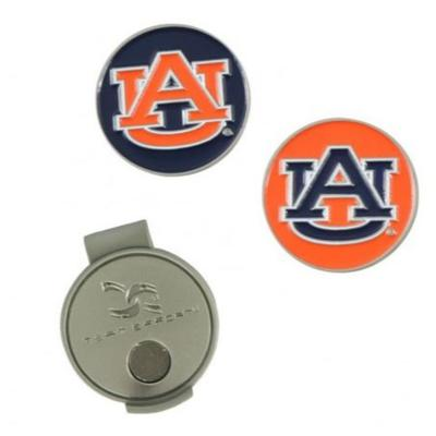 Auburn Hat Clip and Markers