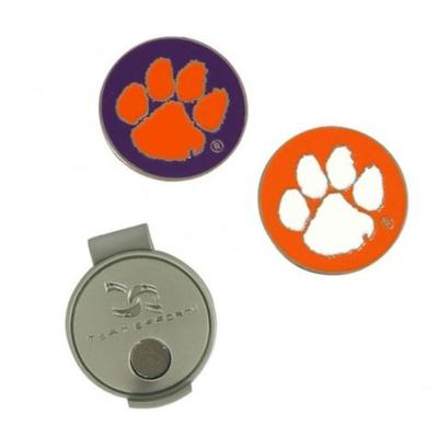 Clemson Hat Clip and Markers