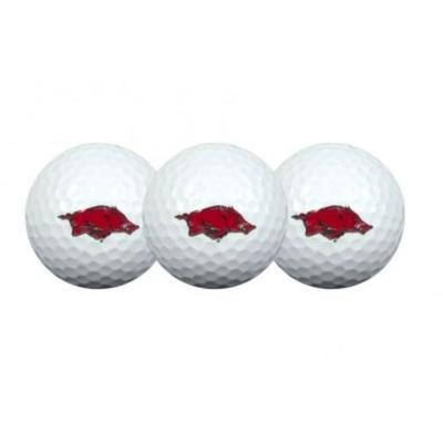 Arkansas Golf Balls (3 pack)