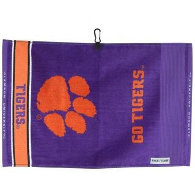 Clemson Jacquard Towel