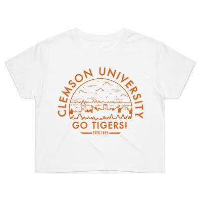 Clemson Voyager Crop Top