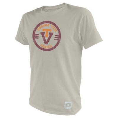 Virginia Tech Circle VT Vintage Tee