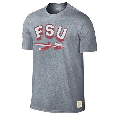 Florida State Retro Brand Arch Spear Tee