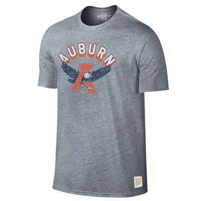 Auburn Retro Brand Arch War Eagle Tee