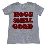 Natural Threads Youth Hogs Smell Good T- Shirt