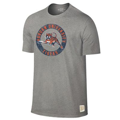 Auburn Retro Brand Circle Tiger Tee