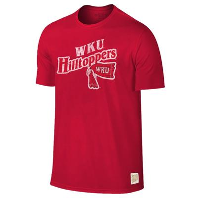 Western Kentucky Retro Brand Slub Tee