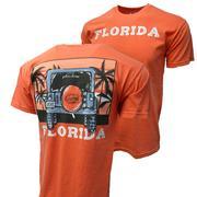 Florida Image One Beach Jeep Adventure Comfort Color Tee