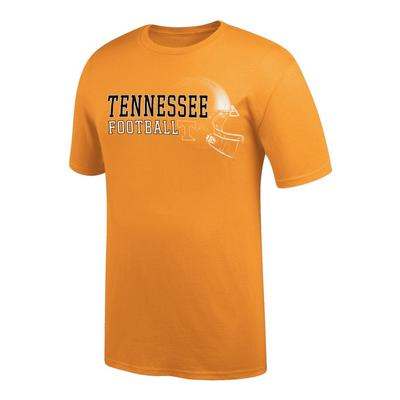 Tennessee Football Tee Shirt with Helmet