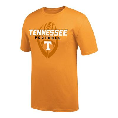Tennessee Vertical Football Tee Shirt