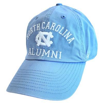 UNC Alumni '47 Brand Arch Clean Up Hat