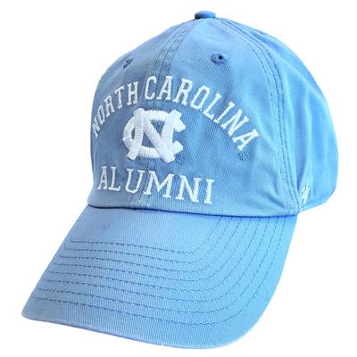 UNC Alumni '47 Brand Arch Clean Up Hat