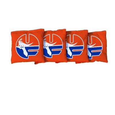 Florida Victory Tailgate Set Of 4 Vault Logo Orange Cornhole Bags