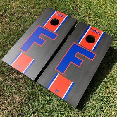 Florida Victory Tailgate Vault Block F Cornhole Set