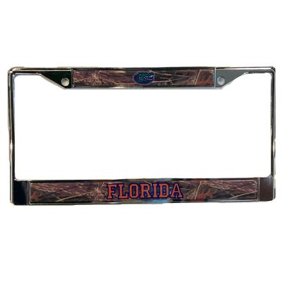 Florida Craftique Camo License Plate Frame