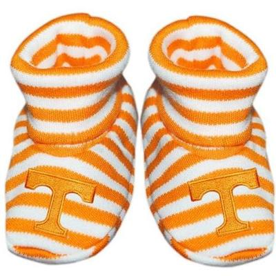 Tennessee Infant Striped Booties