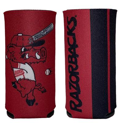 Arkansas Razorbacks 12oz Slim Can Cooler