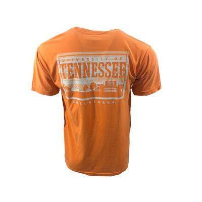 Tennessee Campus Skyline Comfort Colors Shirt