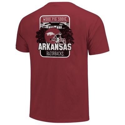 Arkansas Razorbacks Stadium Comfort Colors Shirt