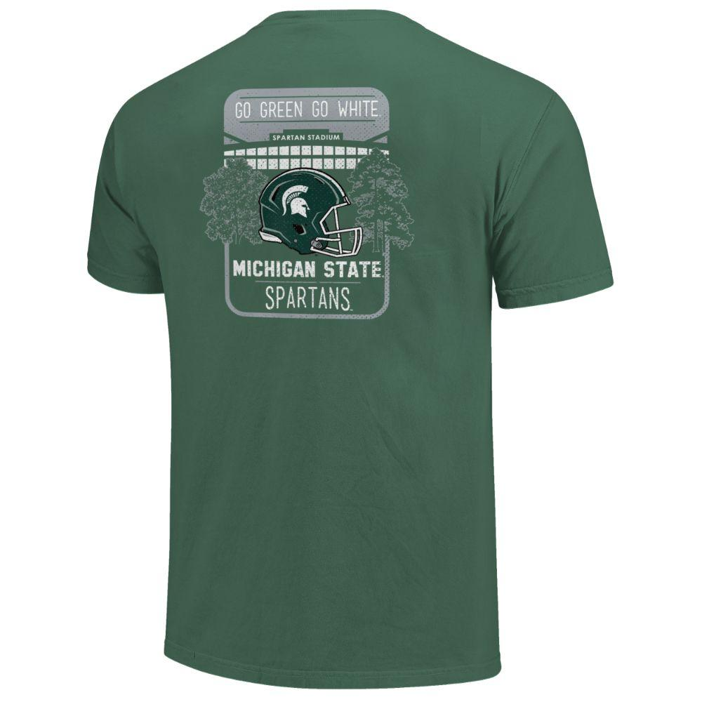 Michigan State Stadium Comfort Colors Shirt
