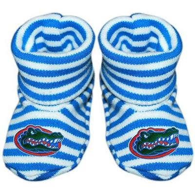 Florida Infant Striped Booties