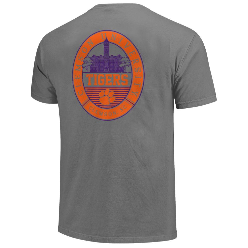 Clemson Regal Campus Icon Comfort Colors Shirt