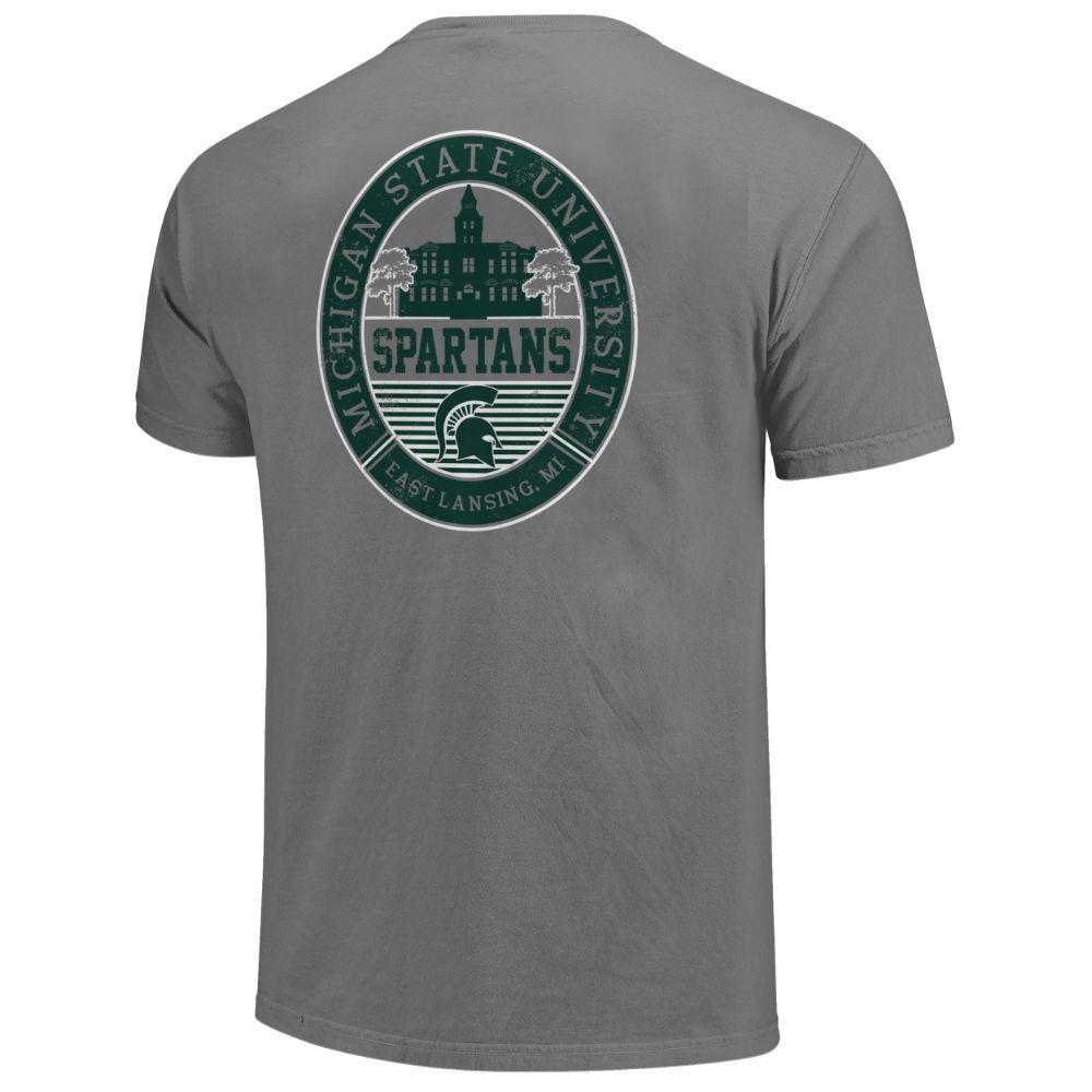 Michigan State Regal Campus Icon Comfort Colors Shirt