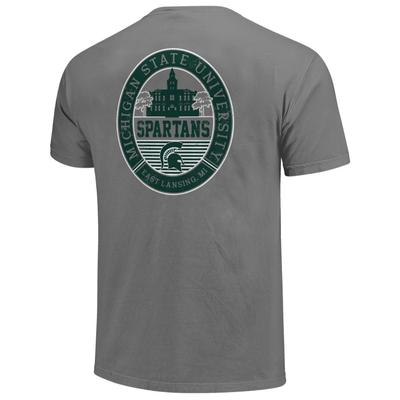 Michigan State Regal Campus Icon Comfort Colors Shirt