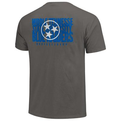 MTSU Blue Raiders Stack Tristar Comfort Colors Tee