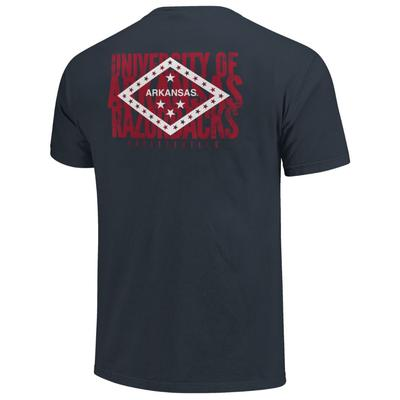 Arkansas Razorbacks State Flag Comfort Colors Shirt