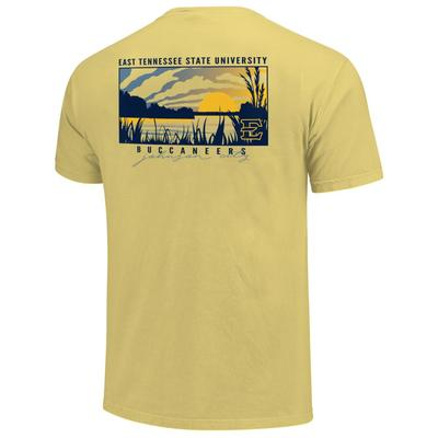 ETSU Lake Sunset Comfort Colors Shirt