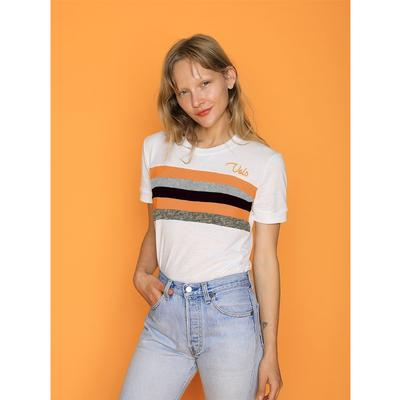 Tennessee CAMP Collection Sun Valley 5 Stripe Sleeve Tee