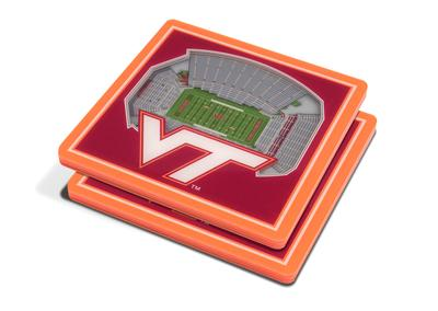 Virginia Tech 3D Lane Stadium Coasters (2pk)